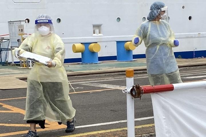 クルーズ 船 長崎 長崎クルーズ船、週内に乗員500人検査へ 自衛隊協力