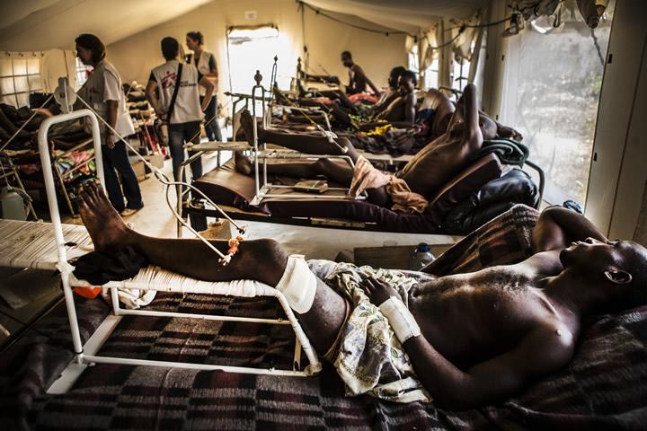 中央アフリカ共和国:首都バンギを襲った暴力の嵐