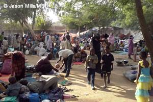 中央アフリカ共和国:過酷な避難生活に、迫りくる雨季 | 活動ニュース ...